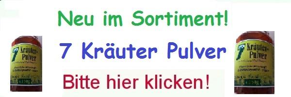 7 Kräuter Pulver