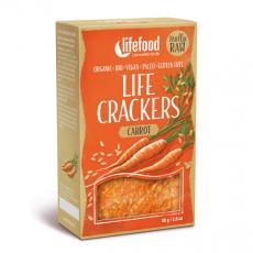 Life Crackers Möhre, Bio in Premium Rohkostqualität