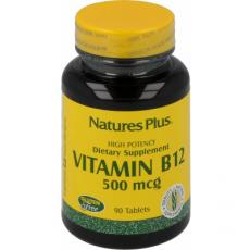 Vitamin B12 Methylcobalamin 500µg von Natures Plus