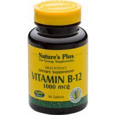 Vitamin B12 Methylcobalamin 1000µg von Natures Plus