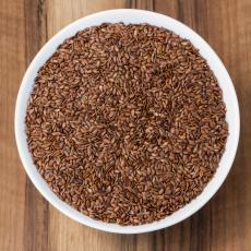 Bio-Leinsaat (Leinsamen) braun, Premium-Rohkostqualität