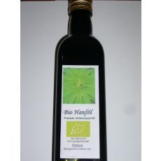 Bio Hanföl in Premium-Rohkostqualität