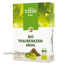 Bio Traubenkernmehl in Premium-Rohkostqualität