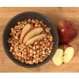 Bio Apfelwürfel mit Schale