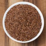 Bio Leinsaat (Leinsamen) braun, Premium-Rohkostqualität